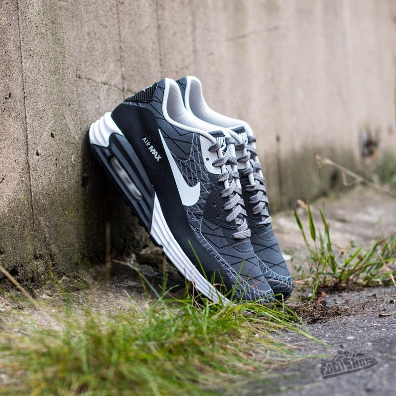 buy popular 7f10c d4d3e Nike Air Max Lunar90 Jacquard Light Ash White-Black