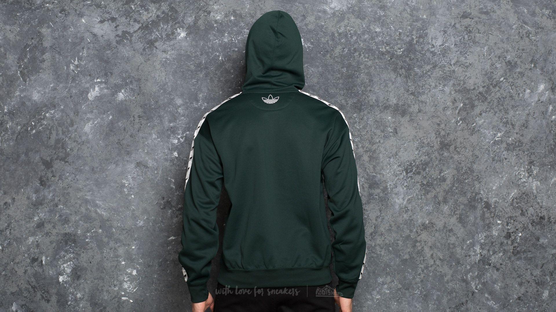 adidas TNT Tape Hoody Green Night White | Footshop