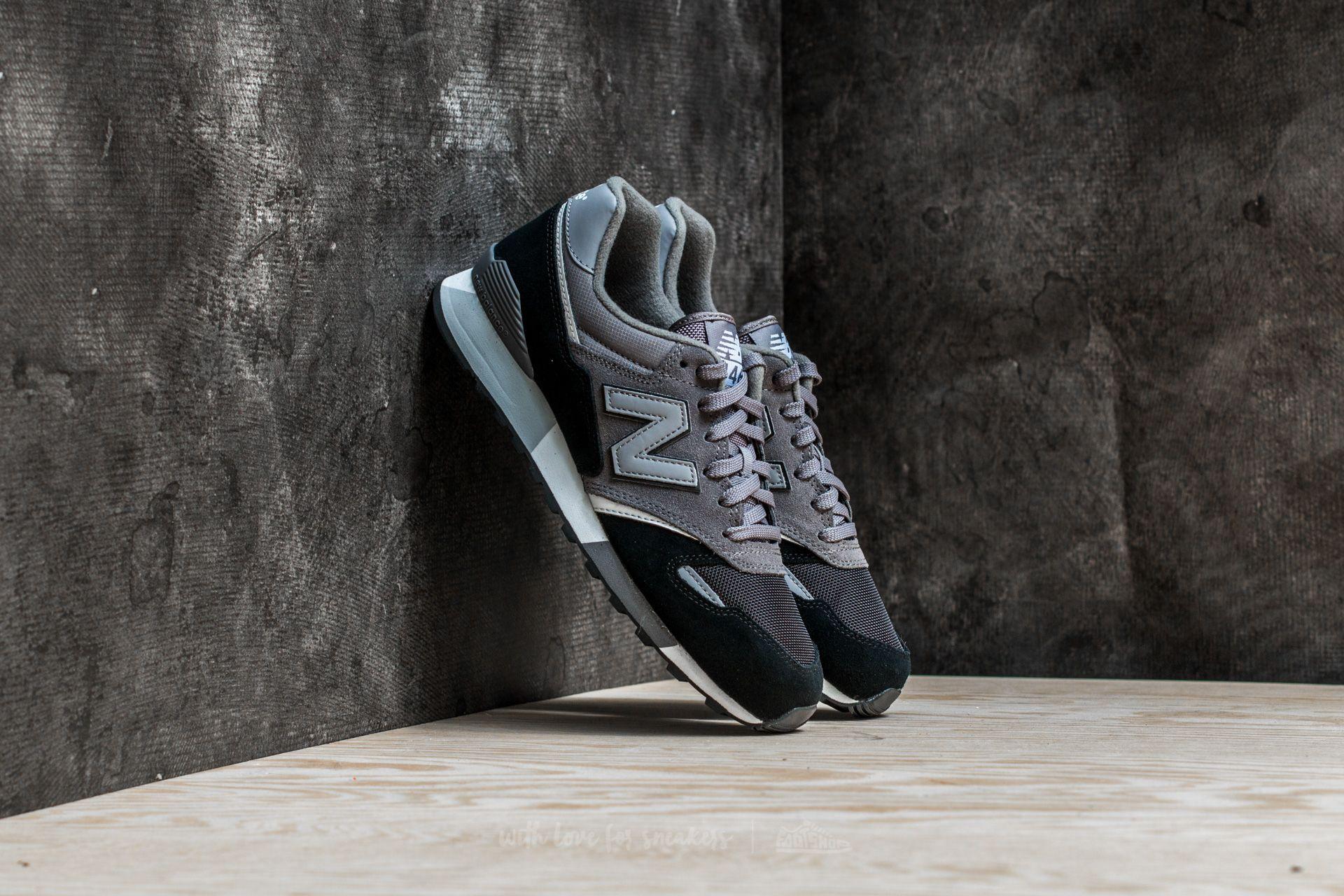 Recitar Sur Acumulativo  Men's shoes New Balance 446 Grey/ Black