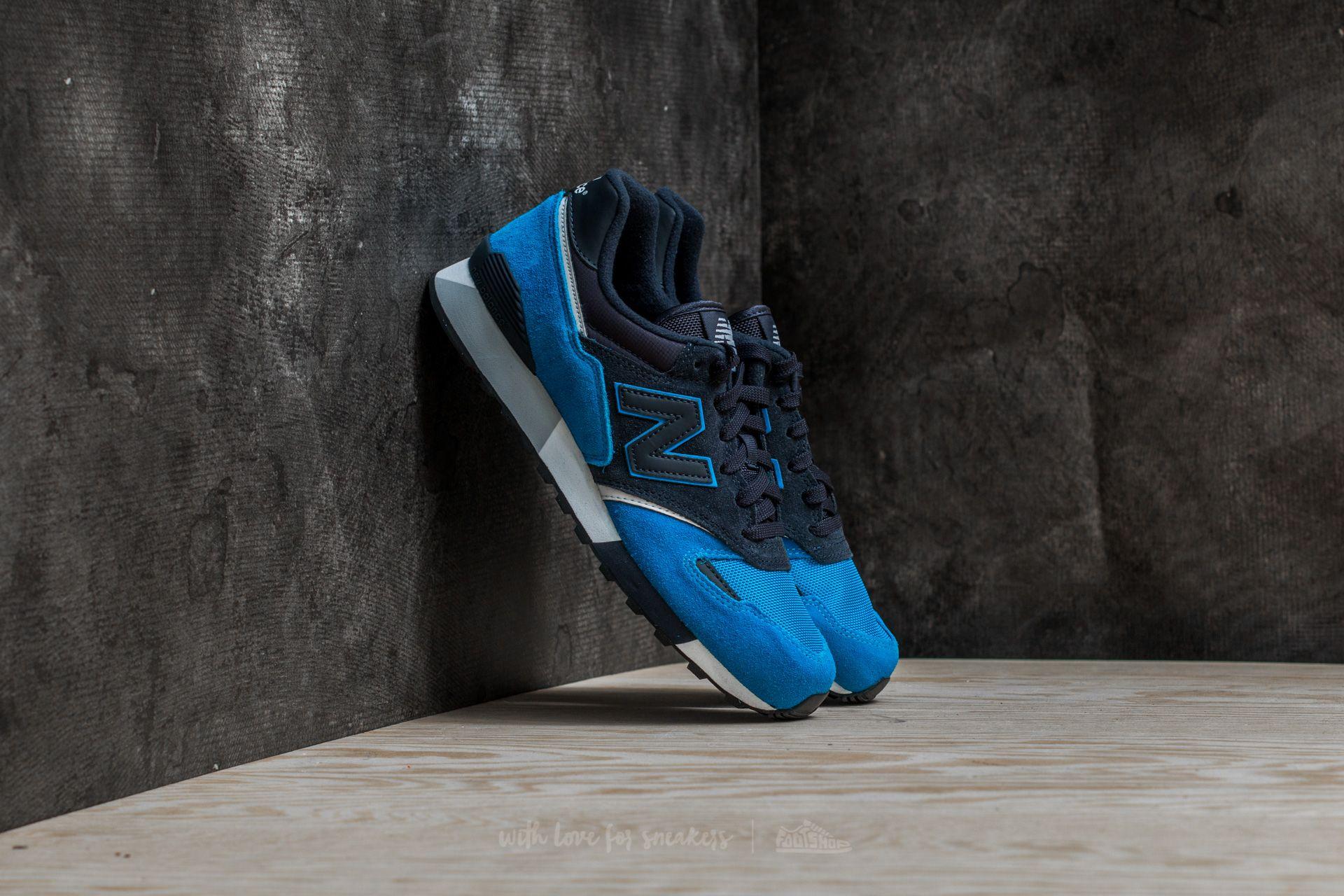 1ec135e739a16 New Balance 446 Blue/ Black   Footshop