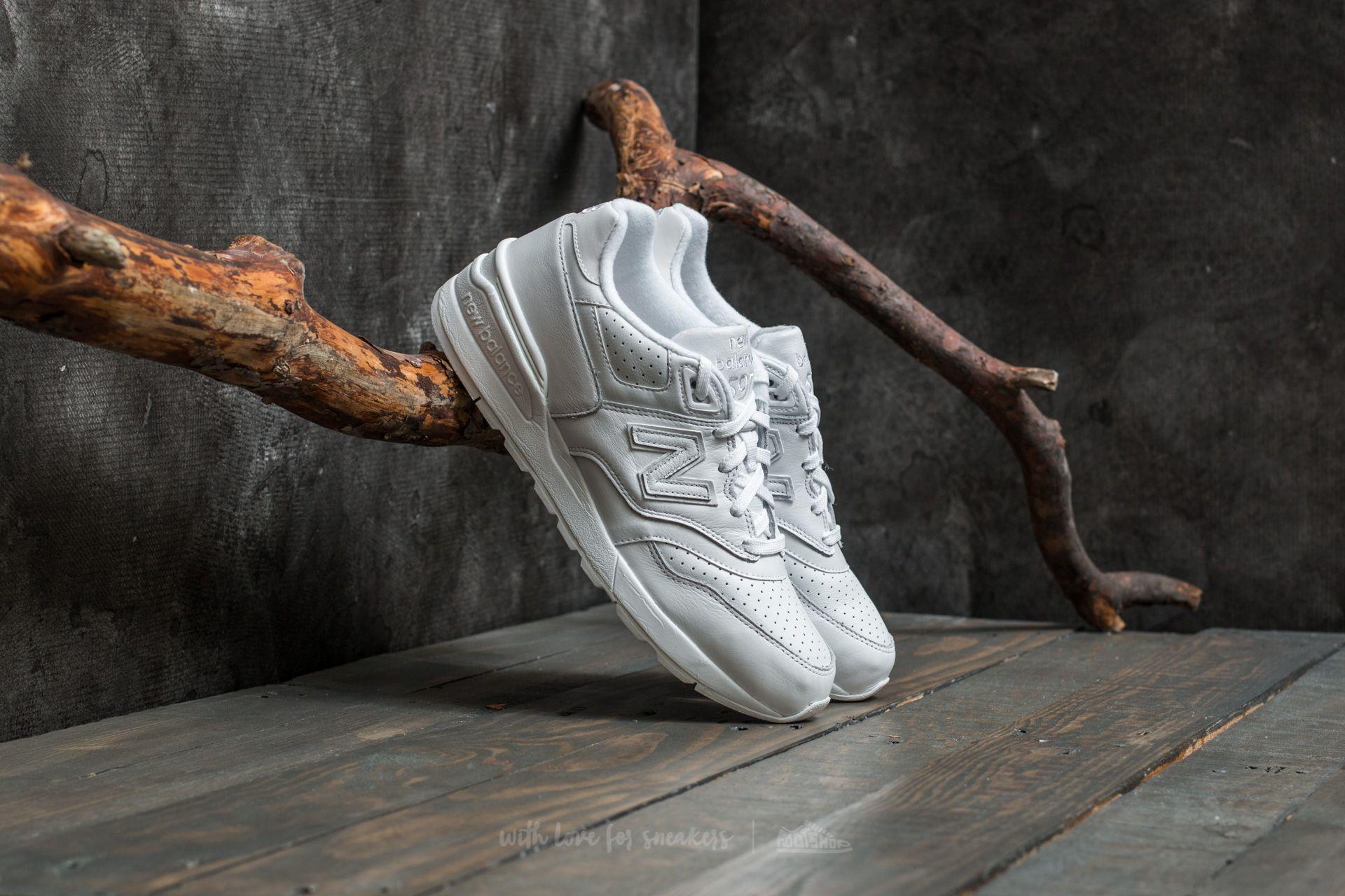 tanie trampki tani sprzedaż usa online New Balance 597 White | Footshop