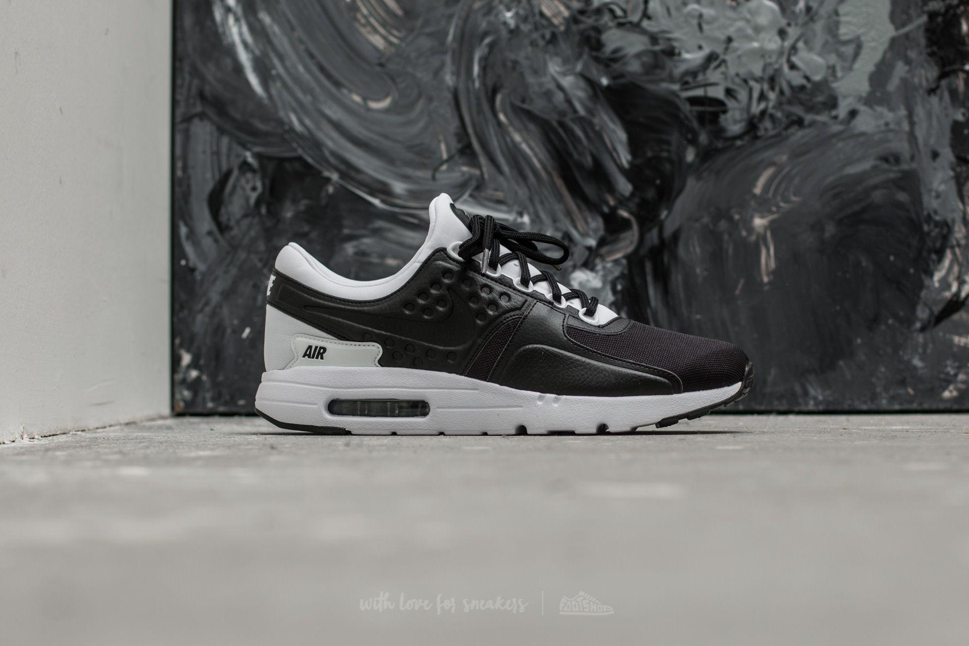 best service 20a97 3d718 Nike Air Max Zero Premium Black/ Black-White | Footshop