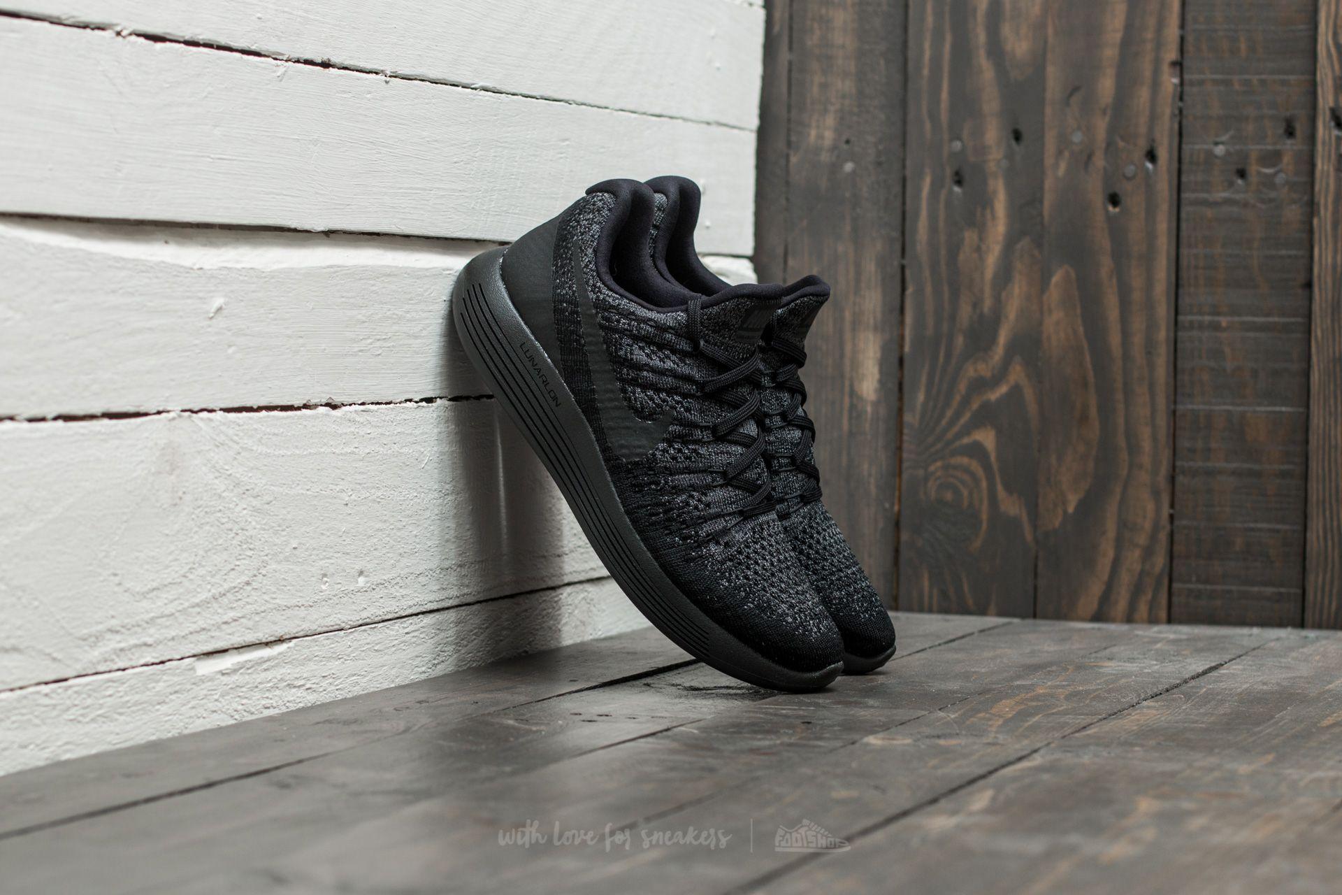Decepción solitario Mesa final  Women's shoes Nike Lunarepic Low Flyknit 2 W Black/ Black-Dark Grey |  Footshop