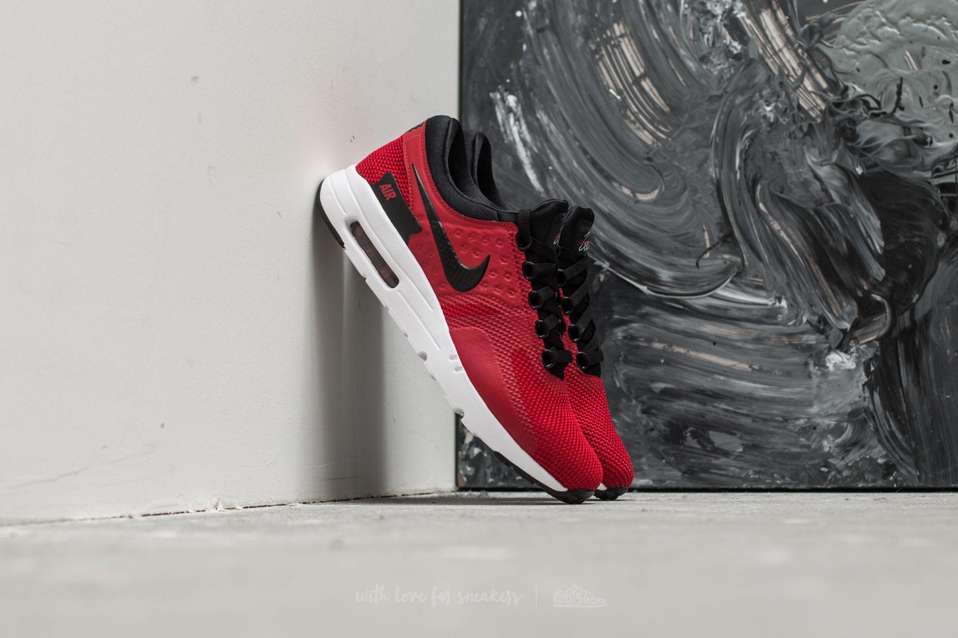 8a8875f07f Nike Air Max Zero Essential Tough Red/ Black-White | Footshop