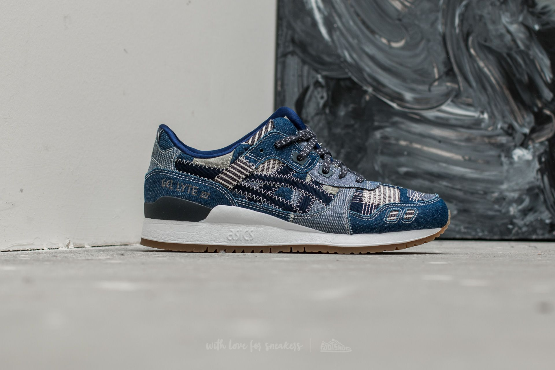 Asics Gel-Lyte III Indigo Blue  Peacoat at a great price £57 buy 8a96a058f1e8