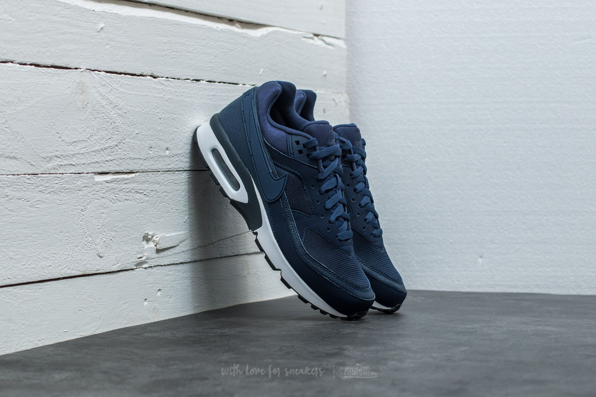 new concept 5f55d 27a1e Nike Air Max BW Midnight Navy  Midnight Navy   Footshop