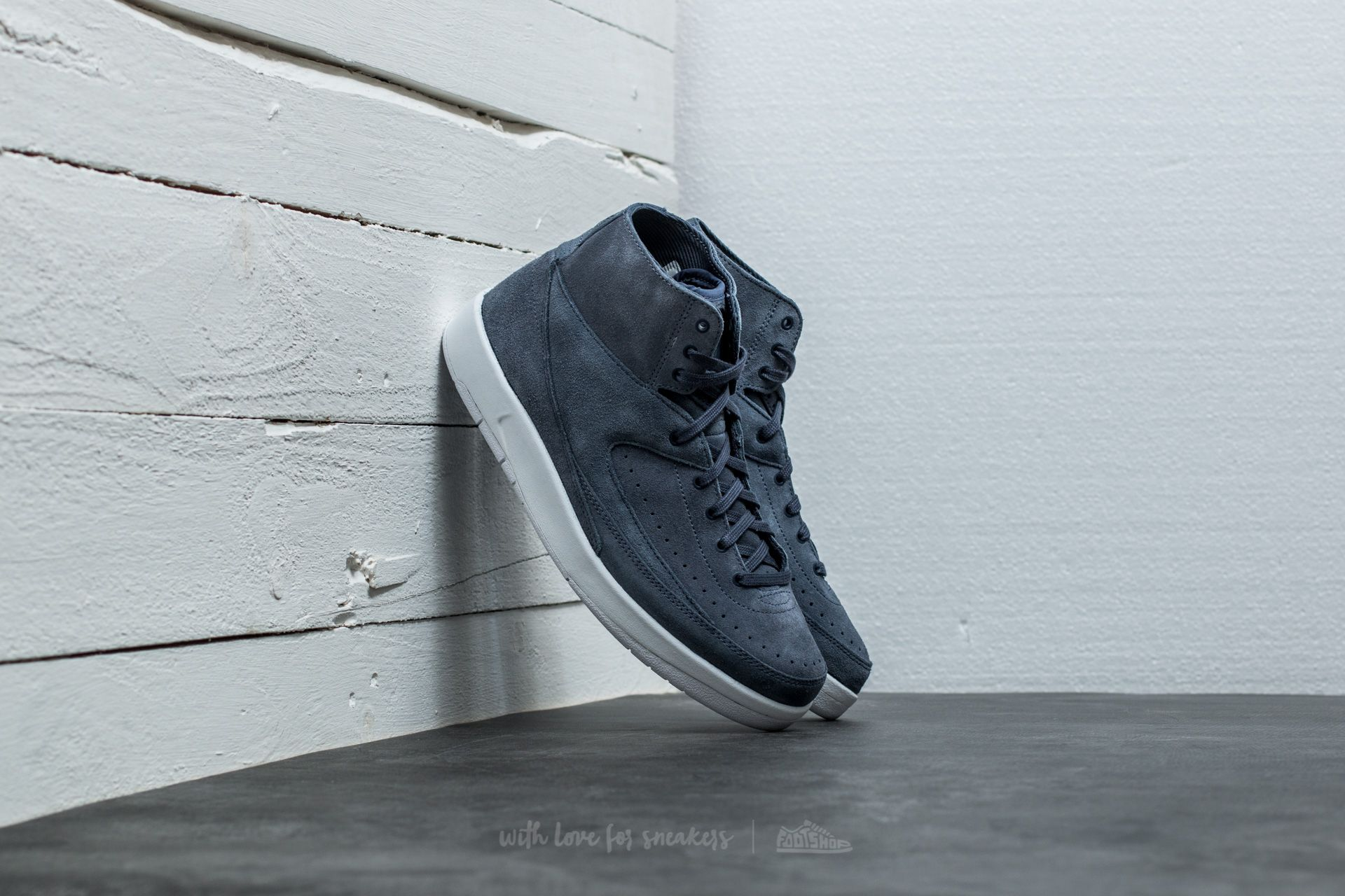 more photos 8eaa0 41418 Air Jordan 2 Retro Decon Thunder Blue/ Thunder Blue | Footshop