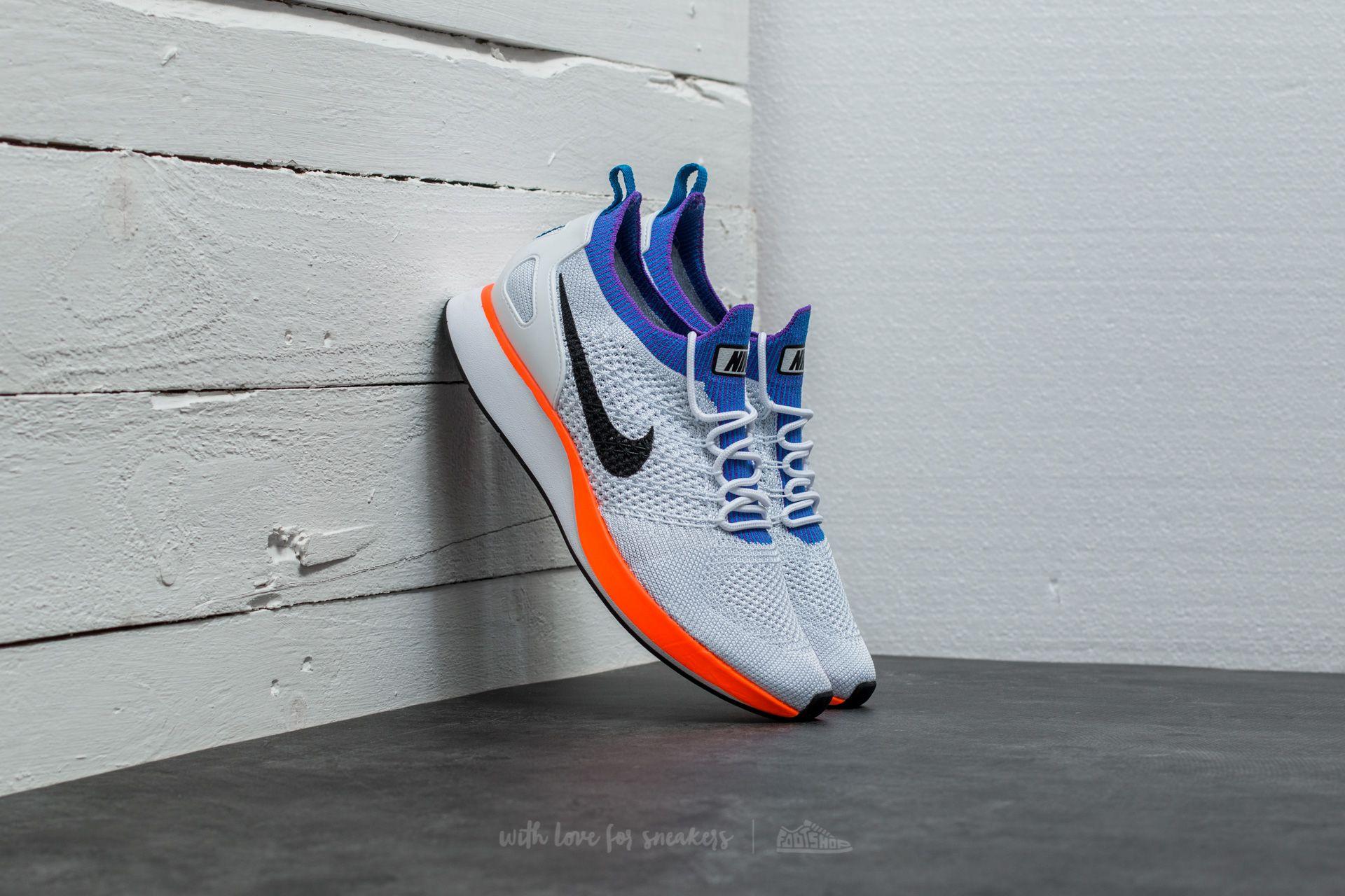 Estimado Empuje hacia abajo Ventana mundial  Men's shoes Nike Air Zoom Mariah Flyknit Racer White/ Hyper Crimson