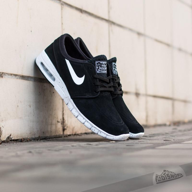Nike Stefan Janoski Max L Black White  88034bfa51