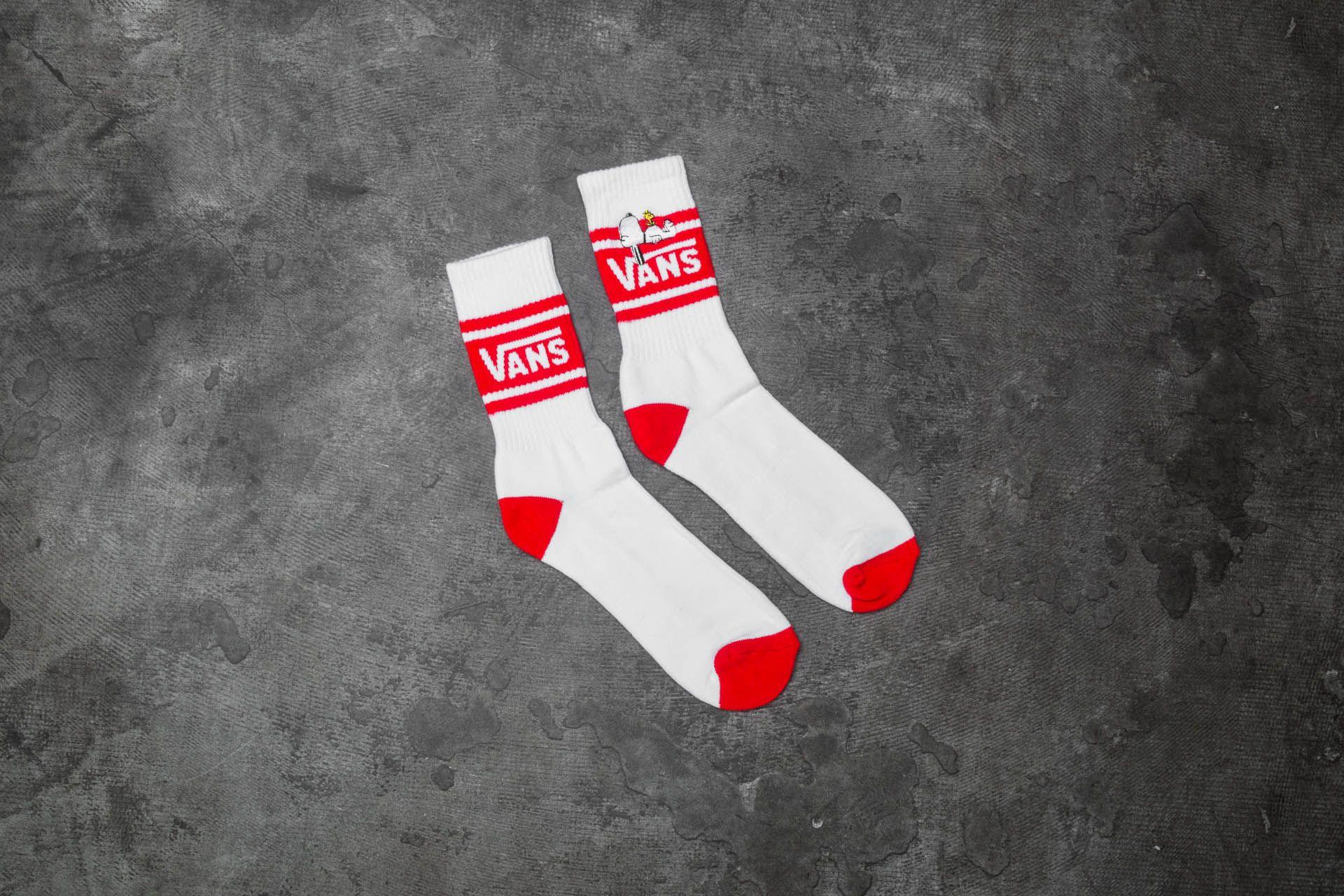 e481ff115c Vans x Peanuts Girl Gang Socks White  Red