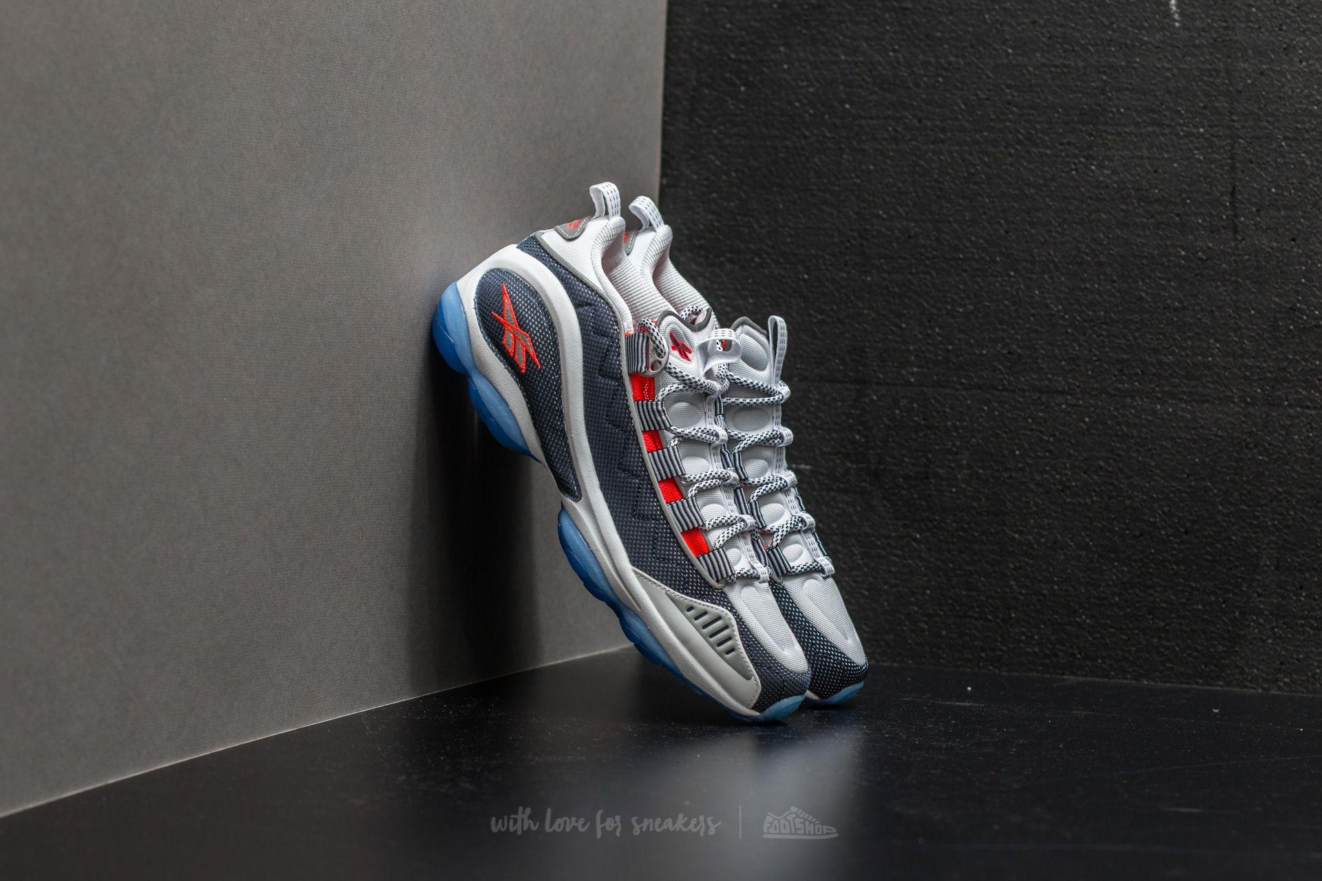 214fdaaa Reebok DMX Run 10 White/ Infinite Blue/ Neon Cherry/ Silver | Footshop