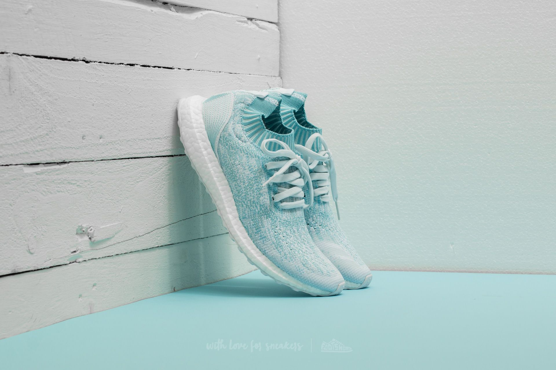 ac05d43180512 adidas x Parley UltraBoost Uncaged Icey Blue  Ftw White  Icey Blue ...