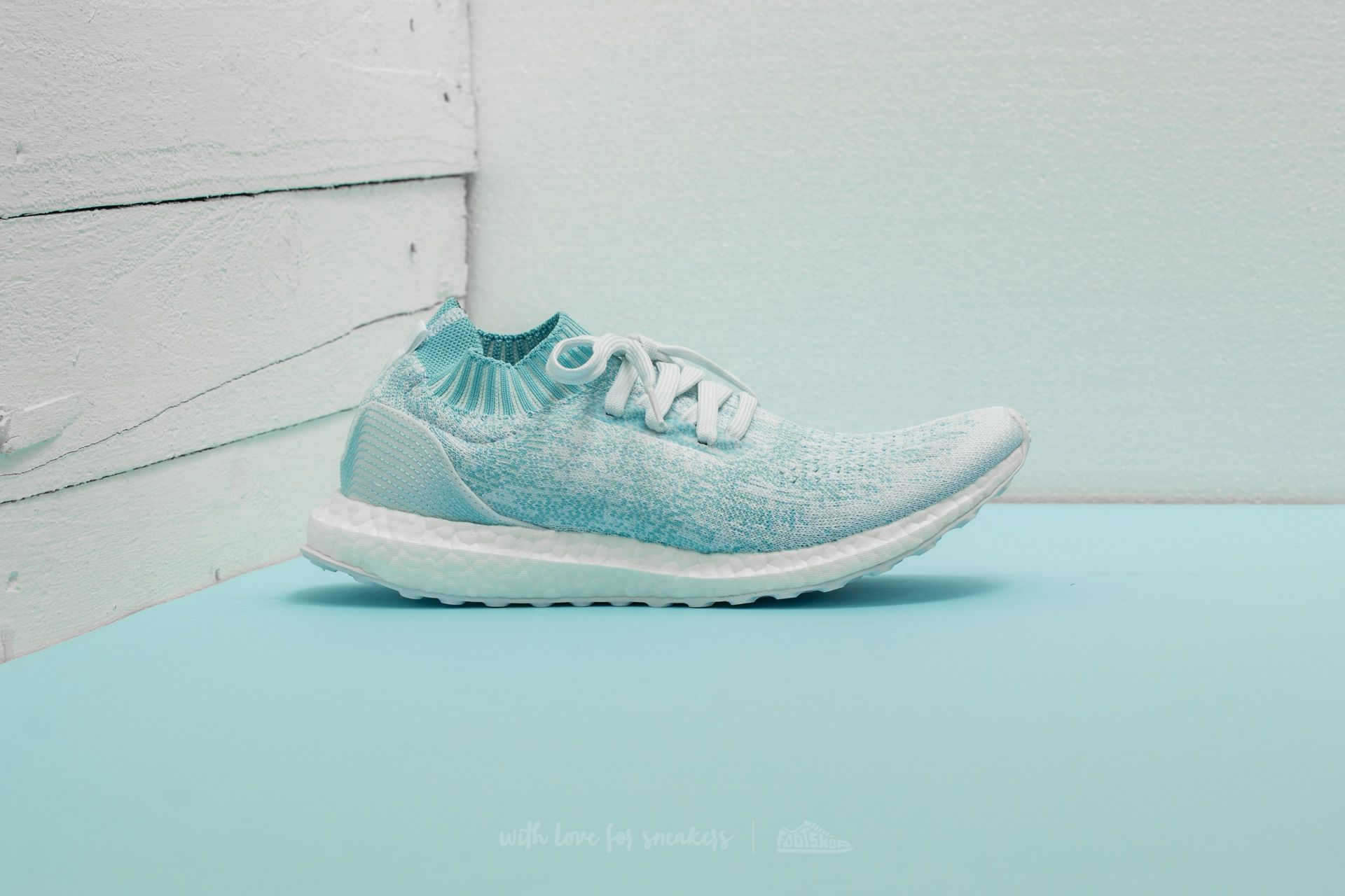 reputable site e4dd3 5edd0 adidas x Parley UltraBoost Uncaged Icey Blue/ Ftw White ...