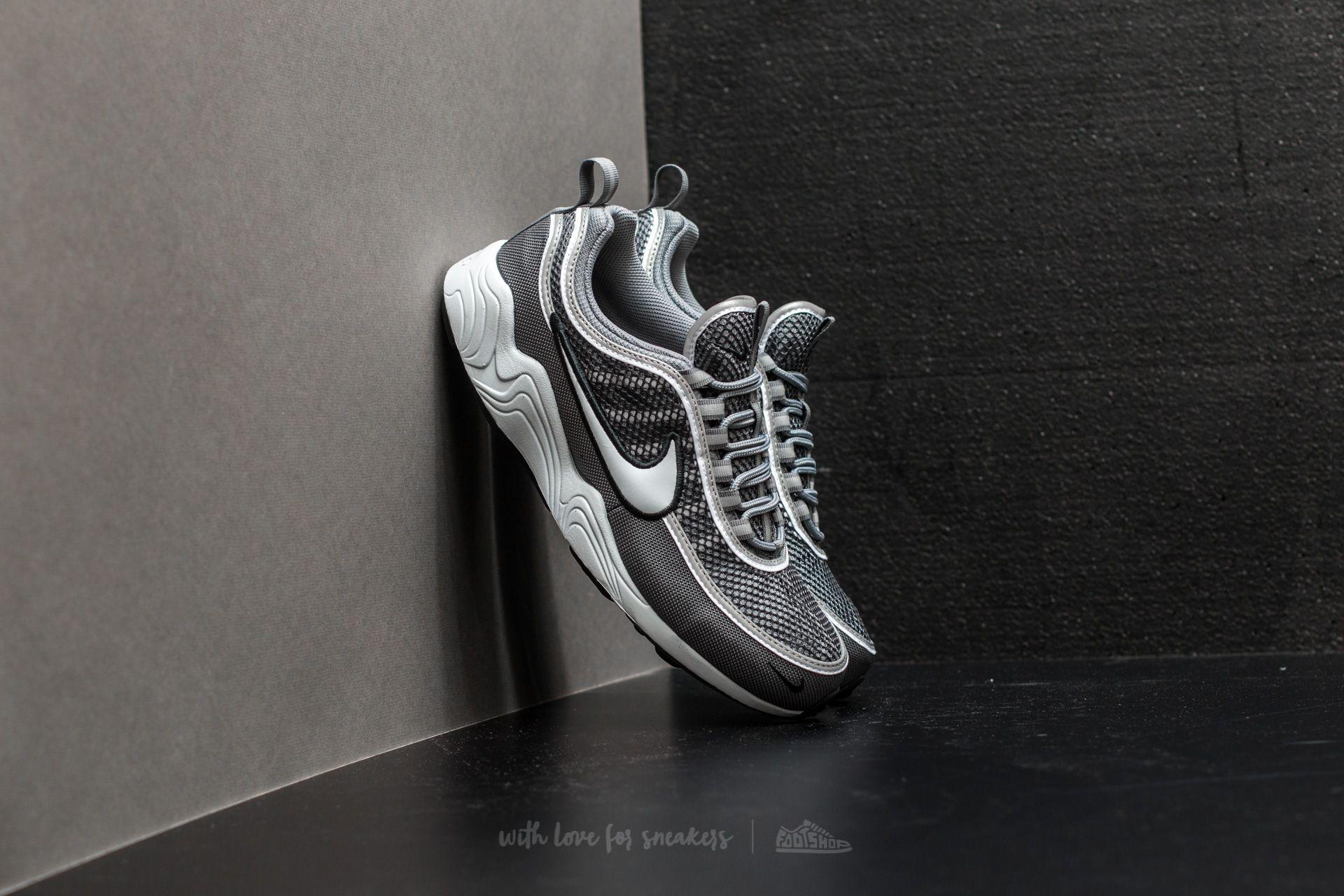 3f38053adfa1 Nike Air Zoom Spiridon  16 Dark Grey  Pure Platinum