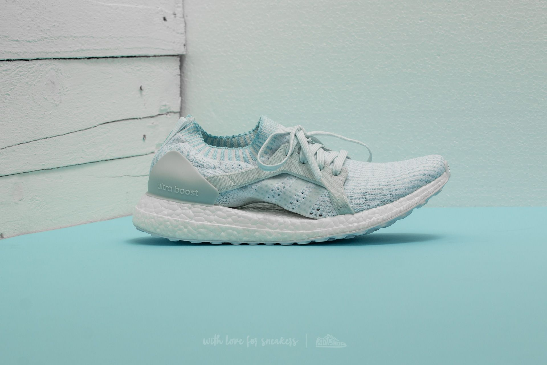 new style c1c80 16811 adidas x Parley UltraBoost X Icey Blue/ Ftw White/ Icey Blue ...