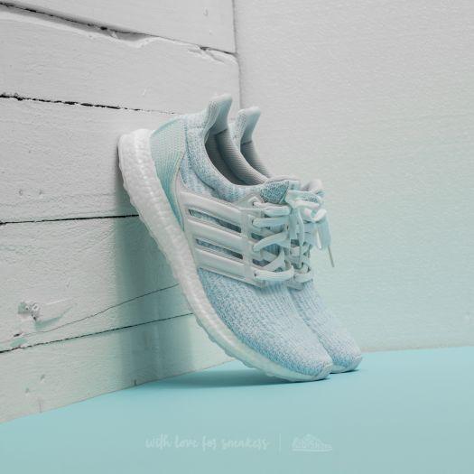 adidas x Parley UltraBoost Ftw White Ftw White Icey Blue   Footshop