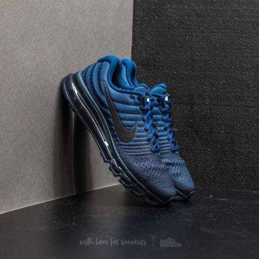 brand new 45e5f 4b4e4 Nike Air Max 2017 Binary Blue/ Black-Obsidian   Footshop