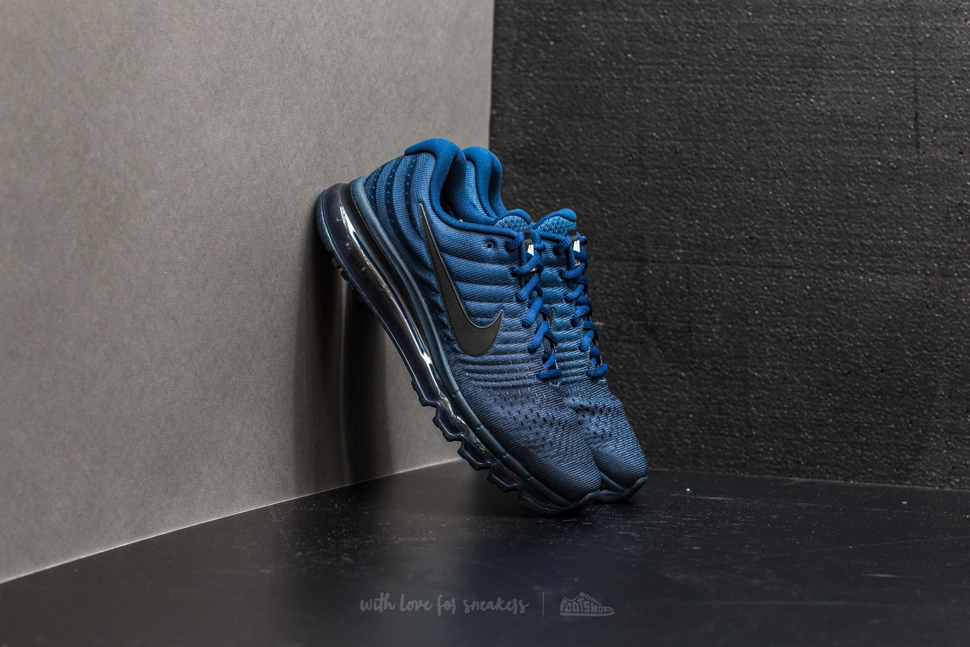 separation shoes 5e979 4d643 Nike Air Max 2017. Binary Blue  Black-Obsidian