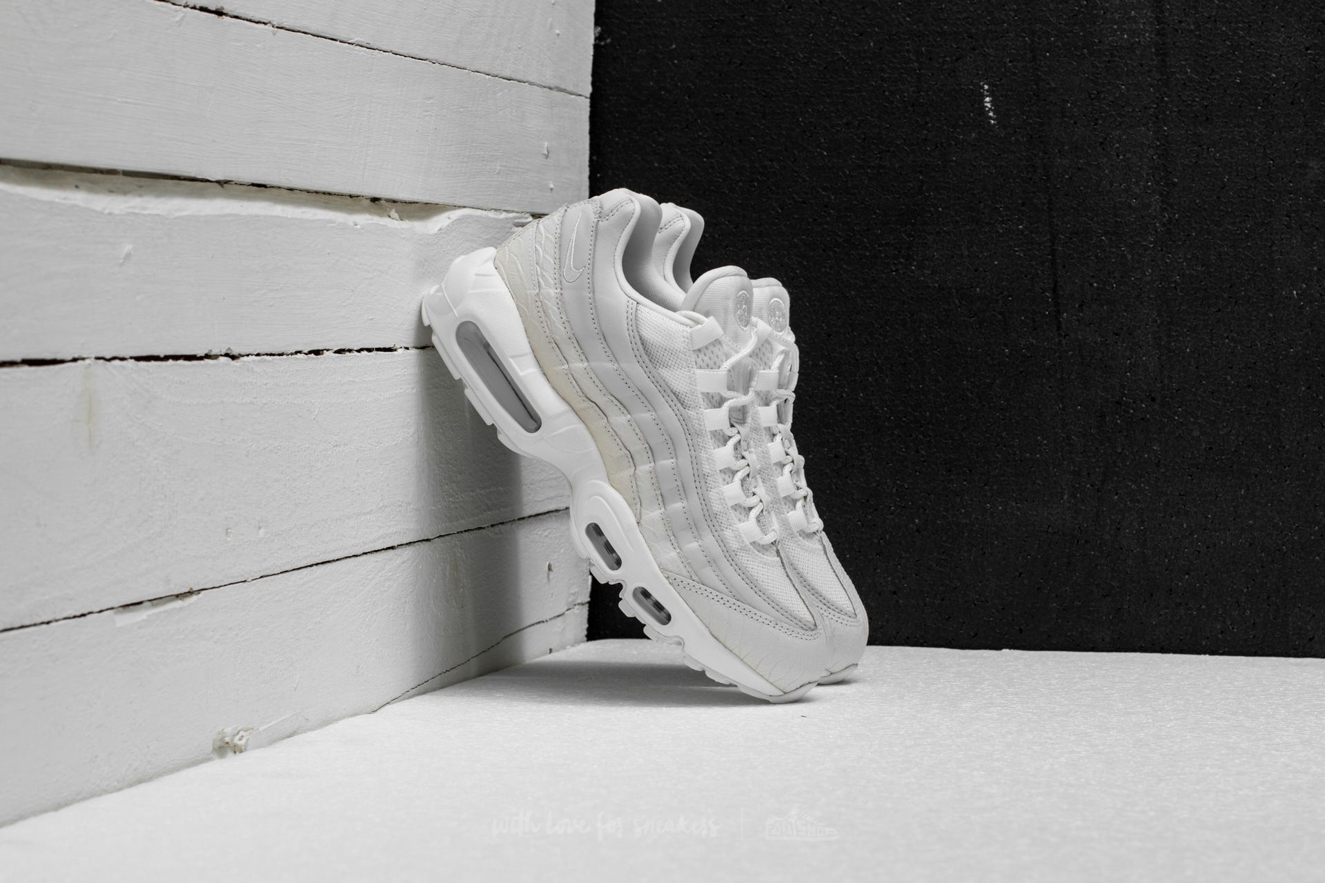 wholesale dealer aec7c 10148 Nike Air Max 95 Premium. Summit White  Summit White
