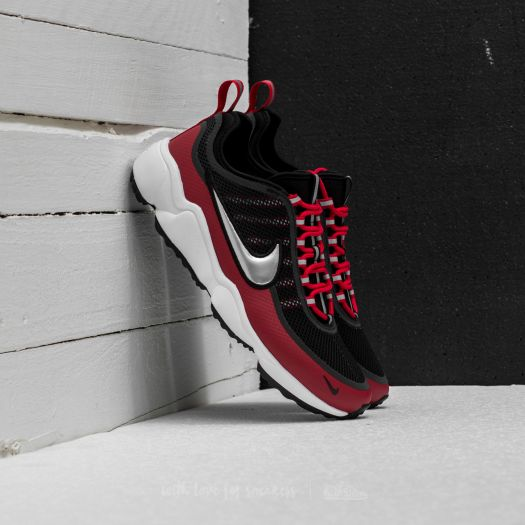 détaillant en ligne ed90e 5e505 Nike Zoom Spiridon Black/ Metallic Platinum-Gym Red ...