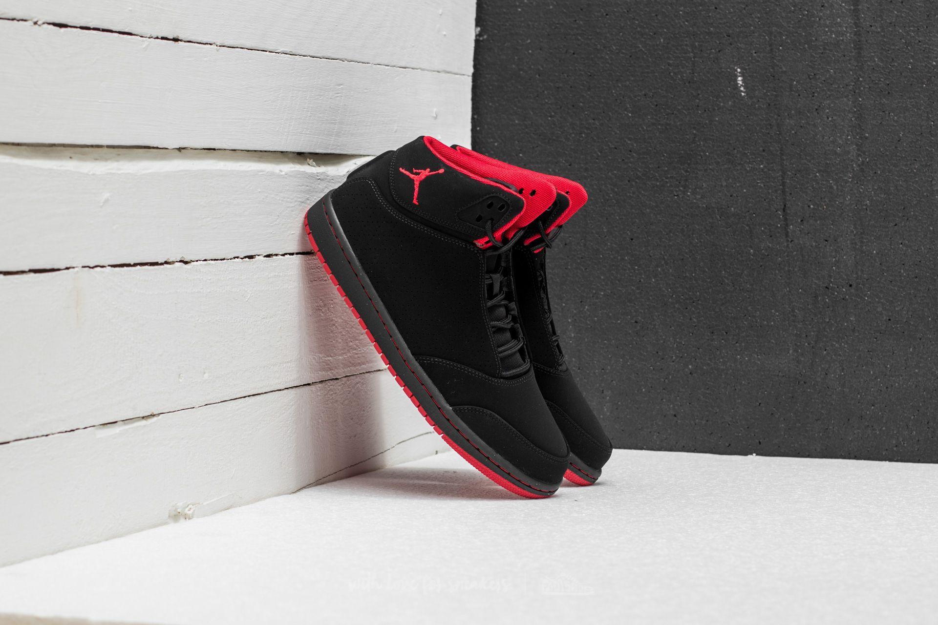 shoes Jordan 1 Flight 5 Black/ Gym Red