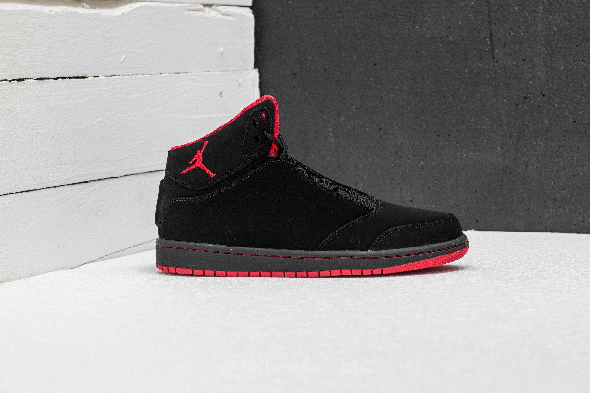 bas prix c73e0 22fbb Jordan 1 Flight 5 Black/ Gym Red | Footshop