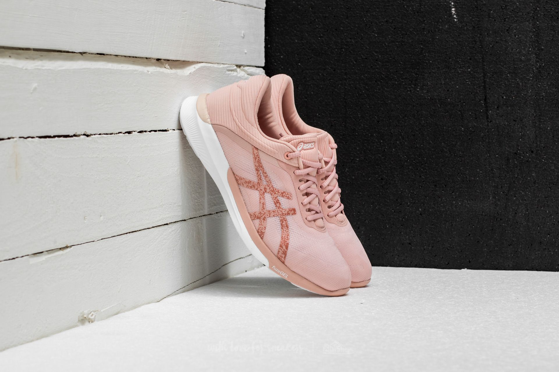 Women's shoes Asics fuzeX Rush White/ Evening Sand/ Evening Sand