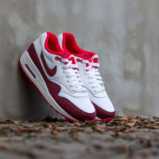 Nike WMNS Air Max 1 Essential White Team Red Action Red