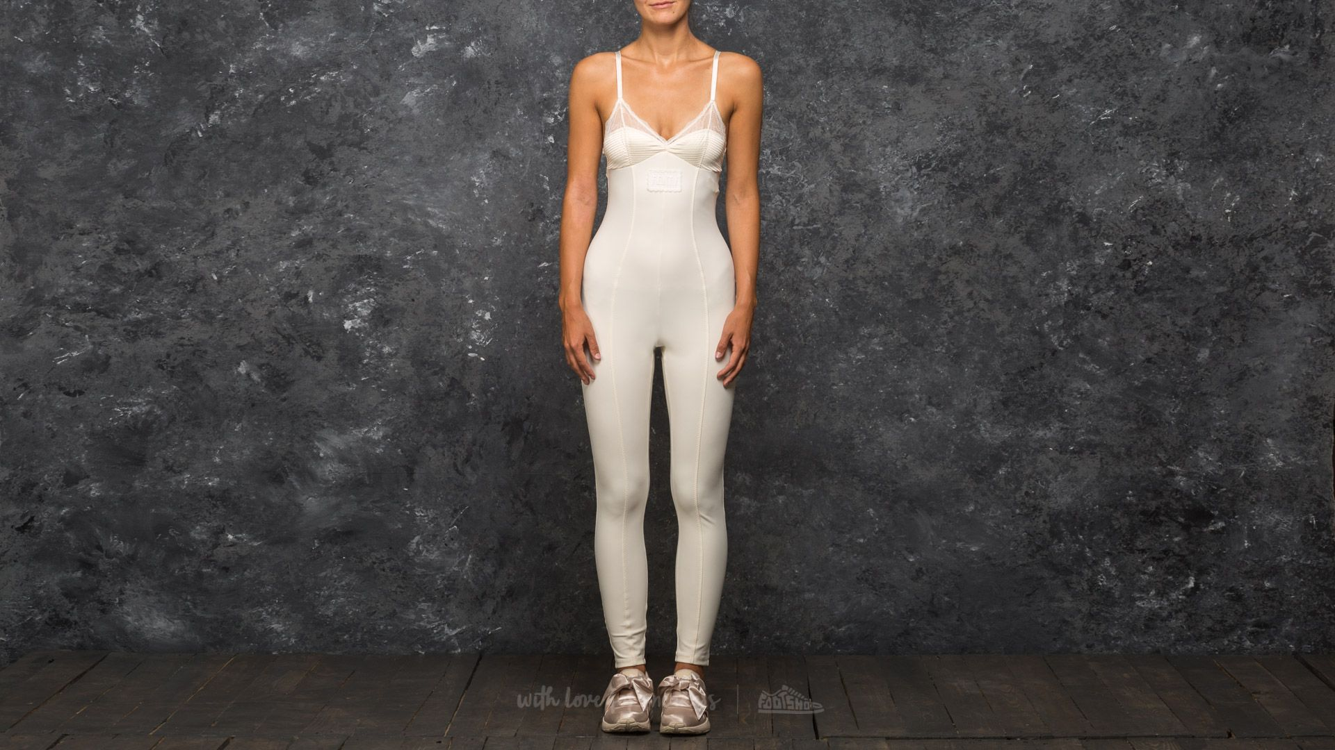 Puma Fenty x Rihanna Lace Detail Full Bodysuit