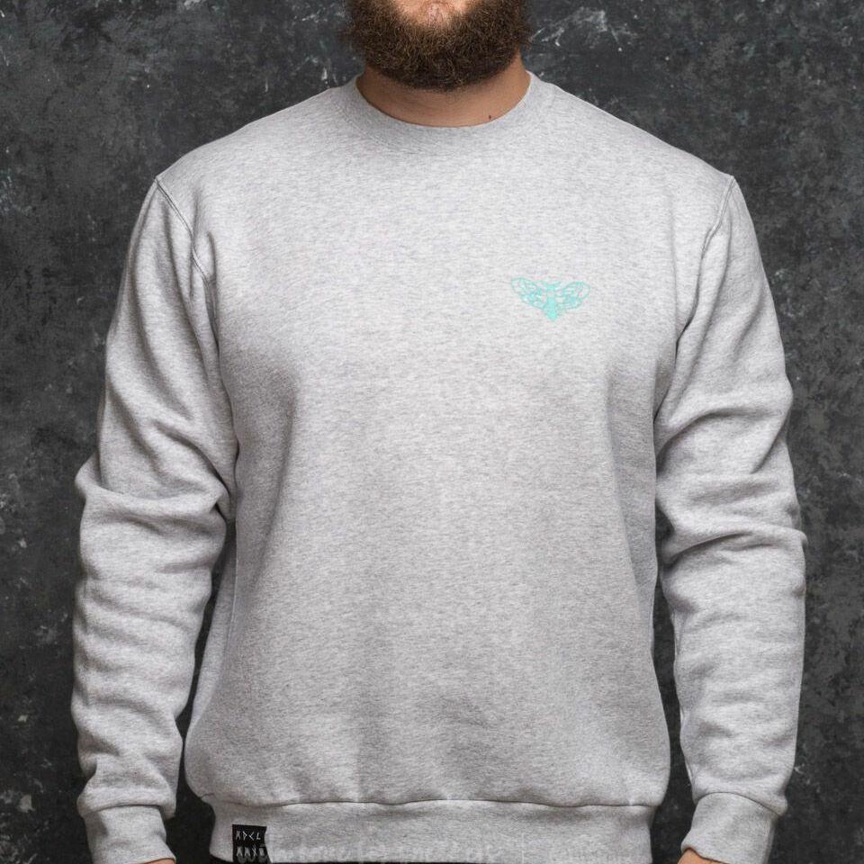 My Dear clothing College Crewneck Grey, Gray