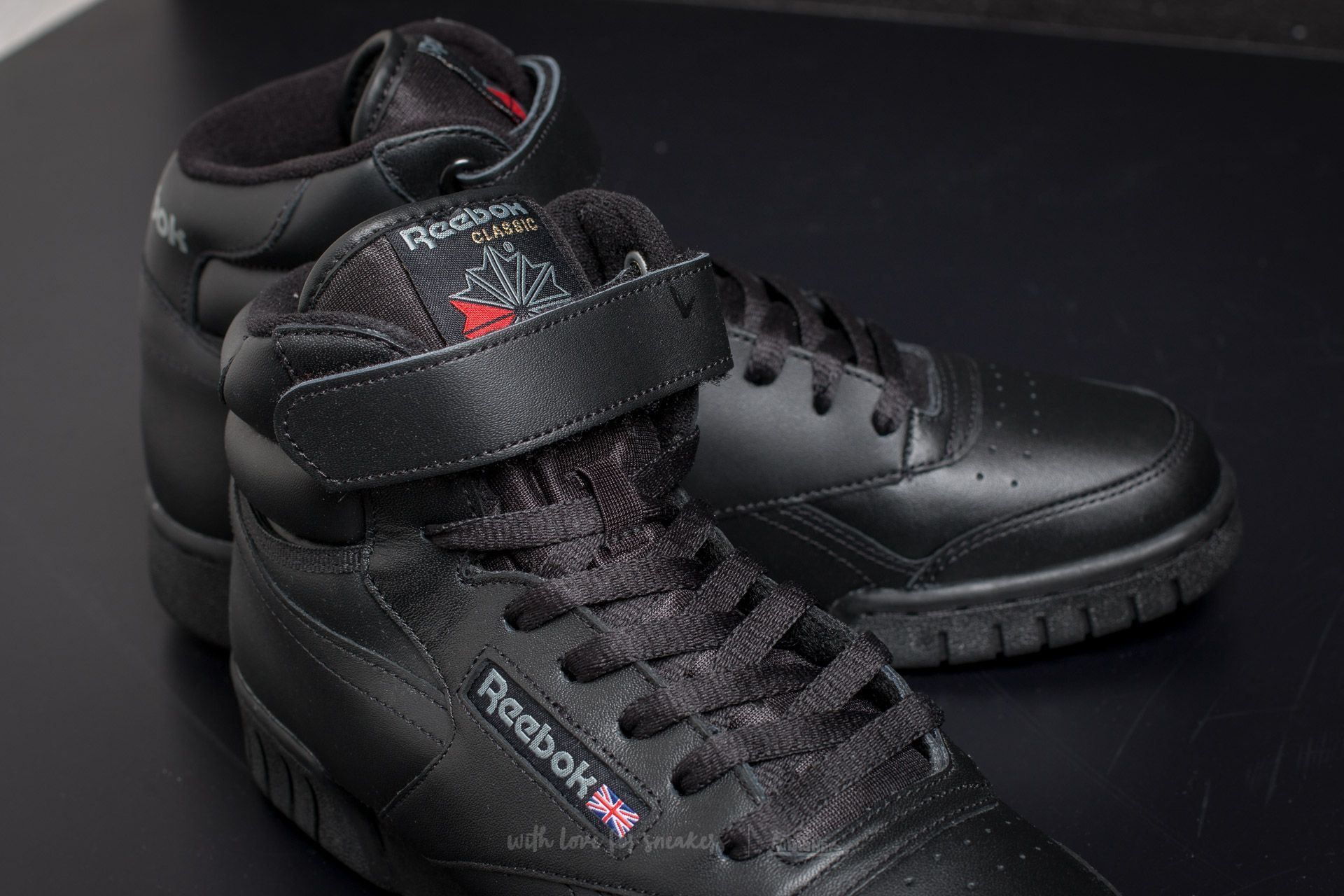Reebok Ex-O-Fit Hi Black at a great price 55 € buy at 92d6a6a20