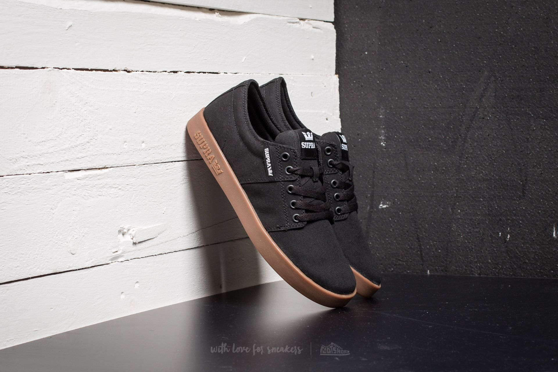 shoes Supra Stacks II Black-Gum   Footshop