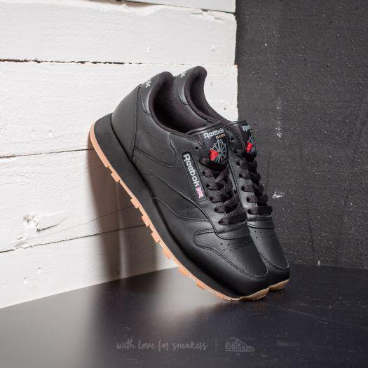 shoes Reebok Classic Leather Black/ Gum