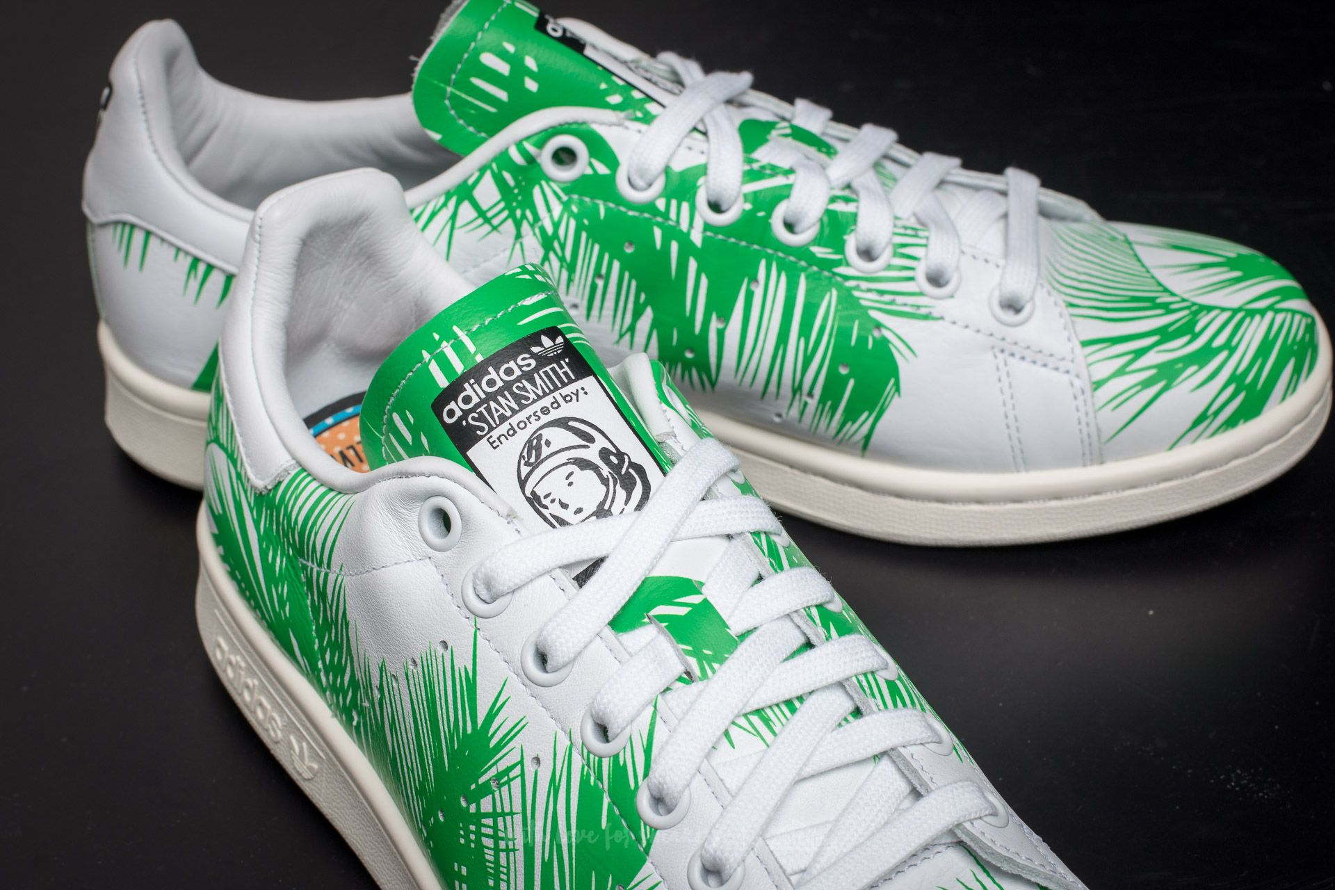 adidas Pharrell Williams Stan Smith Billionaire Boys Club Palm FtwWhite Viv Green Off White | Footshop