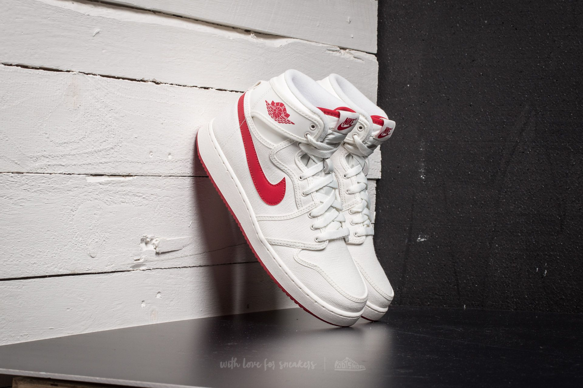 42a2476a180a5b Air Jordan 1 KO High OG Sail  Varsity Red