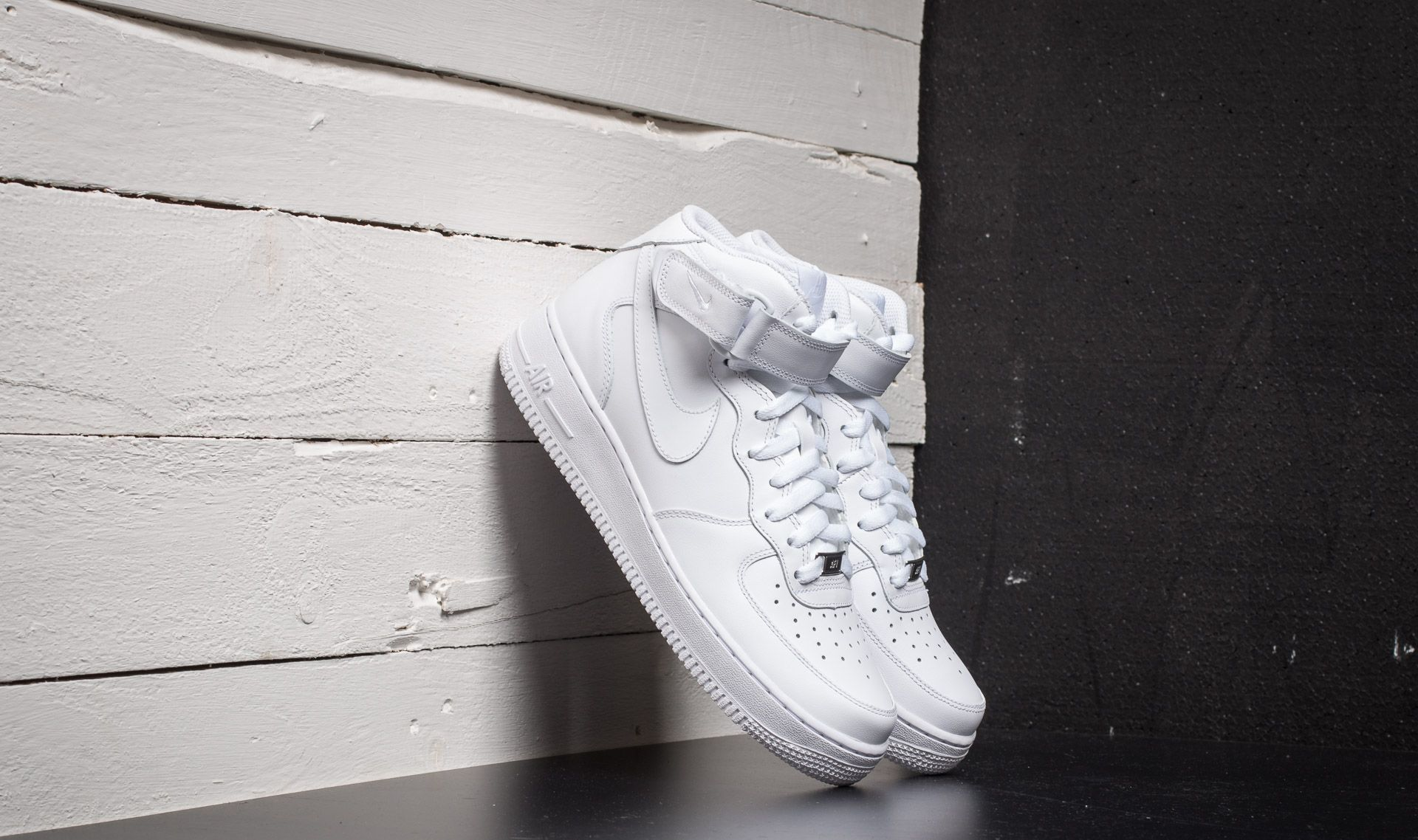 Nike Air Force 1 Mid '07 White/ White EUR 43