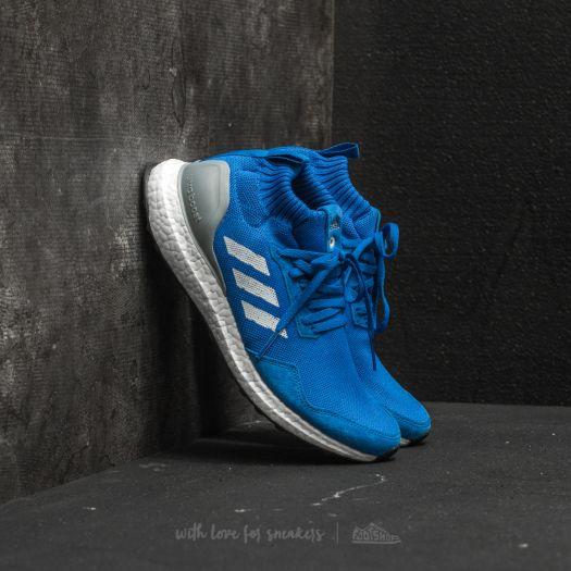 New Adidas Consortium Ultra Boost Mid Run Thru Time Blue