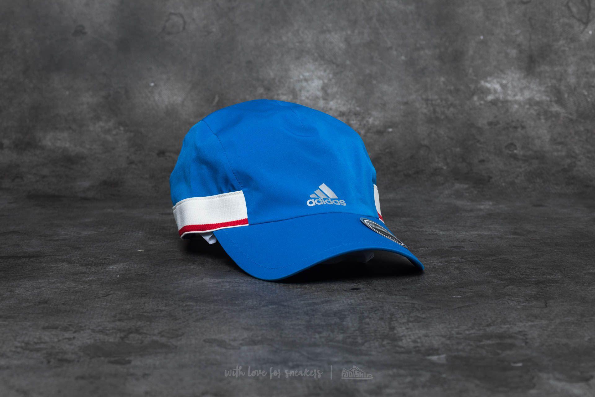 3ad8d78e5d7 adidas Run Thru Time Cap Blue at a great price 15 € buy at Footshop