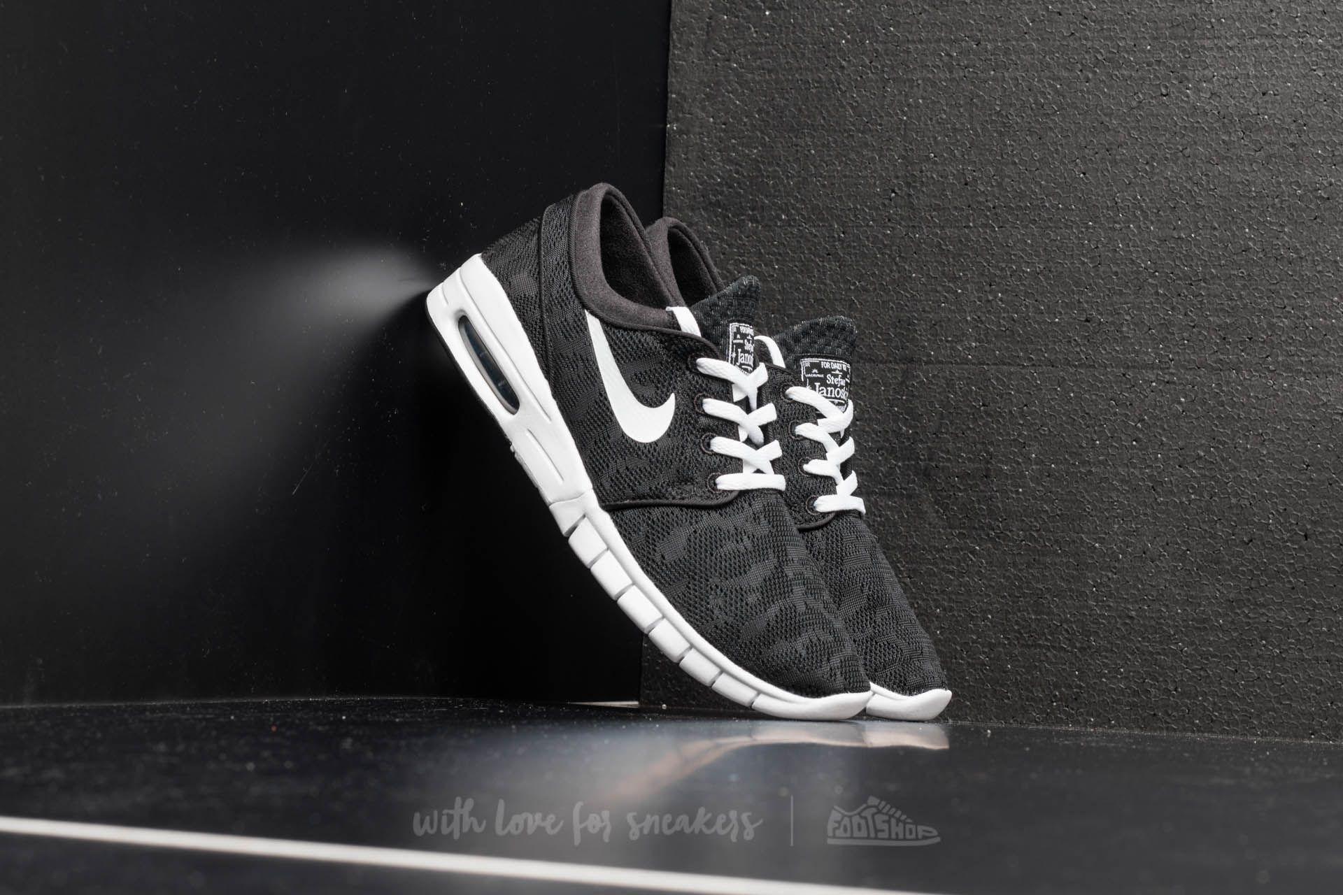 Nike Stefan Janoski Max Black White  a52e757993
