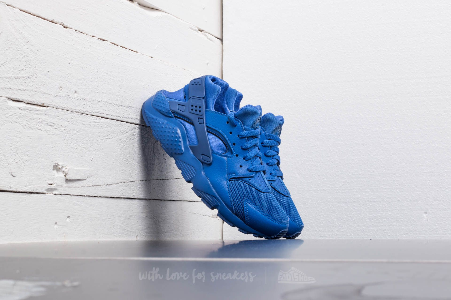 Nike Huarache Run (GS) Game Royal  Game Royal-Game Royal ... 07dc0e3c8ad3