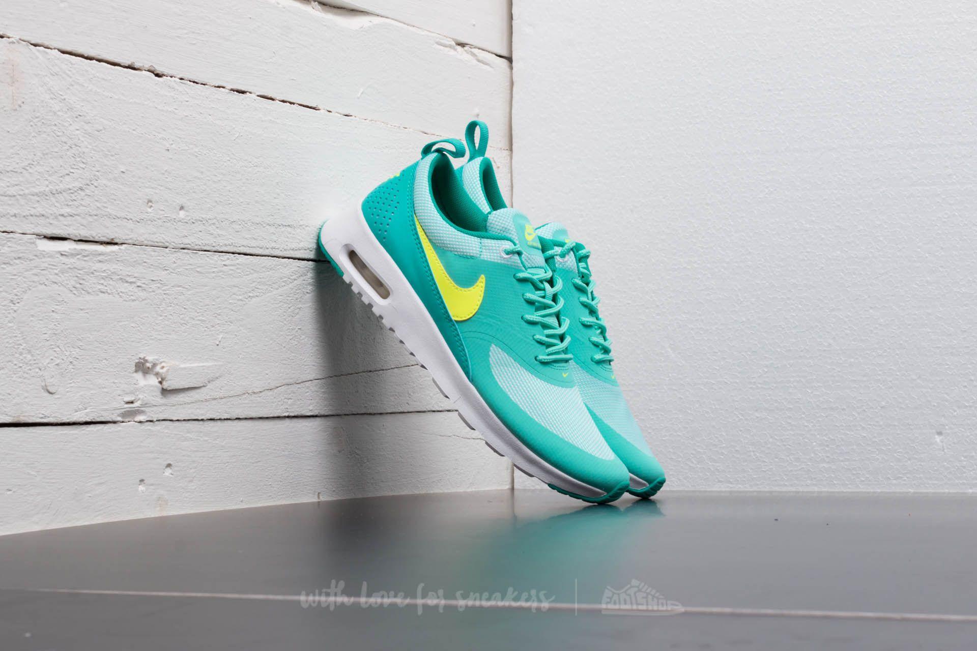 4439a6d12797 Nike Air Max Thea (GS) Hyper Turquoise  Volt-Clear Jade-White ...