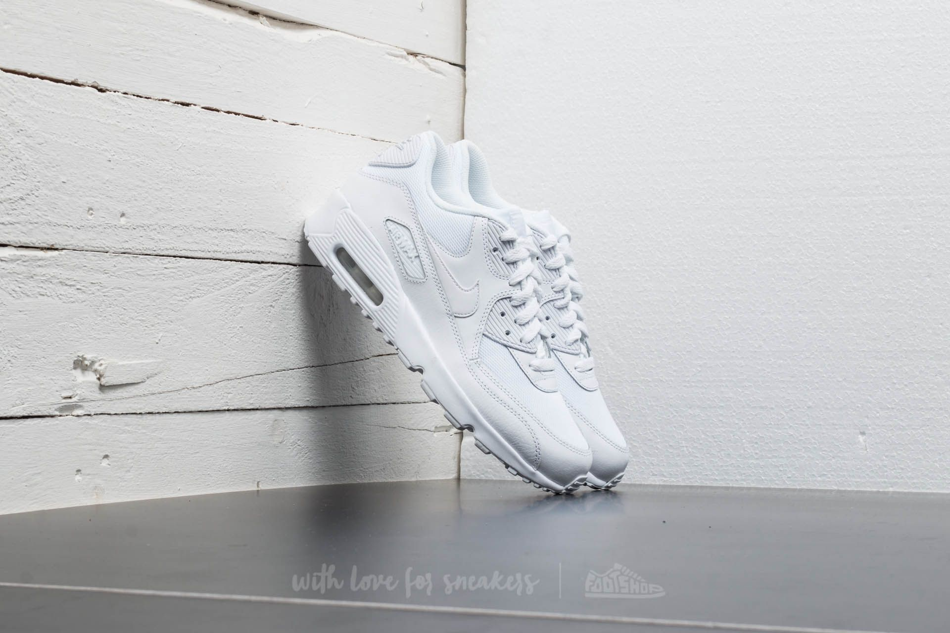 Nike Air Max 90 Mesh (GS) White White   Footshop