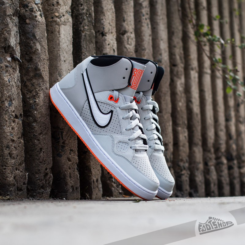 check out eda61 be2b0 Nike Son Of Force MID Light Ash Grey White Hyper Crimson