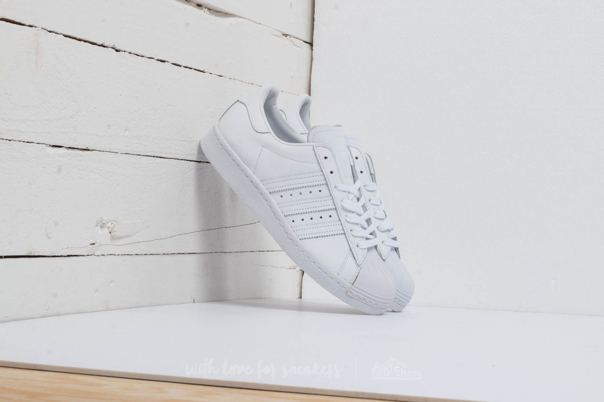 Men's shoes adidas Superstar 80s Ftw White/ Ftw White/ Core Black