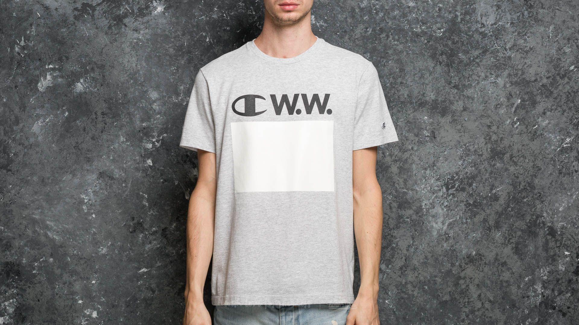 Champion x WOOD WOOD Crewneck T-Shirt