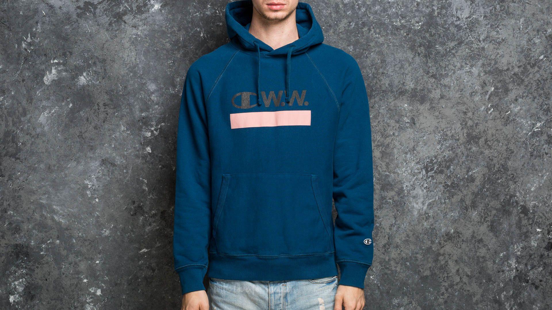 d60b0a54c2b Champion x WOOD WOOD Hooded Sweatshirt Navy