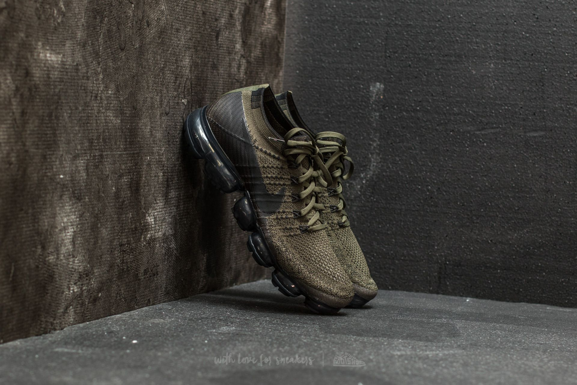 best online limited guantity the cheapest Nike Air Vapormax Flyknit Cargo Khaki/ Black-Medium Olive | Footshop