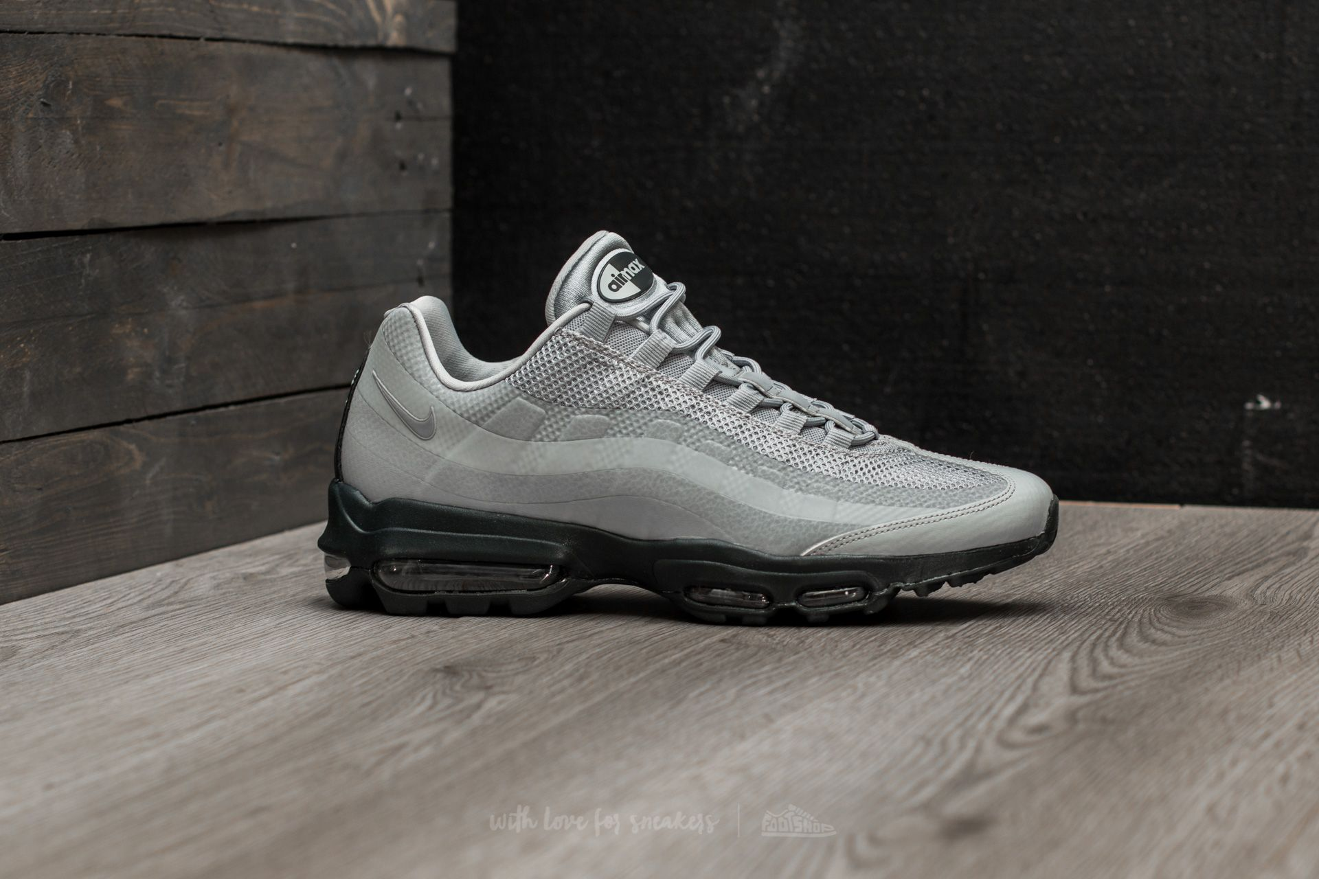 detailed look 6e716 95022 Nike Air Max 95 Ultra Essential Wolf Grey/ Wolf Grey ...