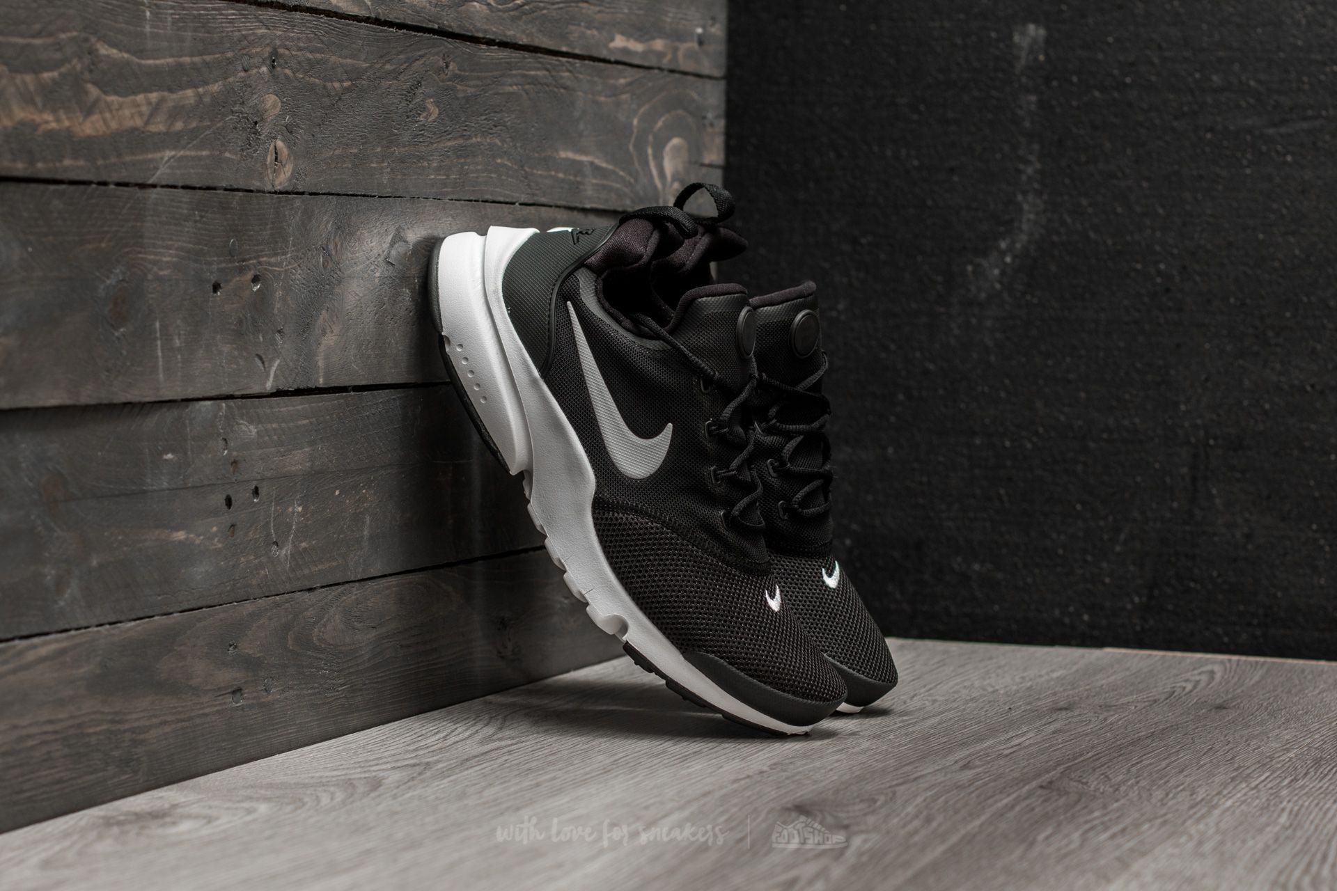 Nike Presto Fly (GS) Black White   Footshop