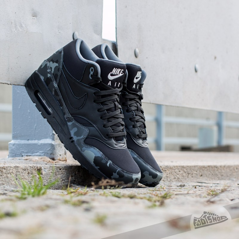 Nike Air Max 1 MID FB BlackGrey   Footshop